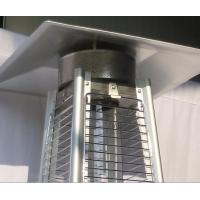 Durable Stand Up Pyramid Outdoor Gas Patio Heater With Flame 8KW Power Manufactures