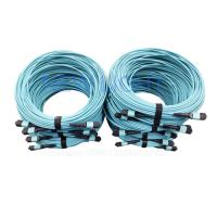 China Mpo Fiber Connector Mtp Patch Cable With Mpo 24 Cable Fiber Connector Type on sale