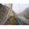 Buy cheap Diamond steel wire Rockfall Mesh hillside stabilization netting from wholesalers