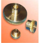 Hand Screw Worm Aluminum DC Motor Worm Gear CNC Machining Part Manufactures
