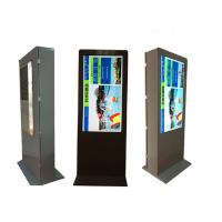 Cheap 43'' 50'' 55'' HD Fashion Outdoor Interactive Kiosk advertising 1920x1080 lcd display ultra thin High Brightness for sale