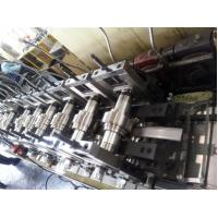 China Galvanized Metal Roll Forming Machines / Pallet Rack C Z Purlin Roll Forming Machine on sale