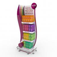 Retail Shop Display Stands For Shampoo Shower Gel Manufactures