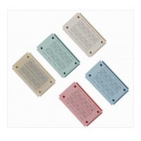 Round Hole Bread board Small Test Board Colored For 29AWG - 20AWG Wires Manufactures