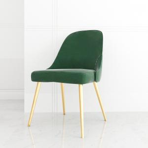 OEM Velvet Chair With Gold Legs Manufactures