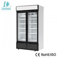 Static Cooling Soft Drink Storage Commercial Upright Freezer With Panasonic Compressor Manufactures