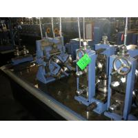 ASTM A53 Stainless Steel Tube Making Machine Hot Rolled Steel 2.0 mm - 6.0 mm Uncoiler Manufactures