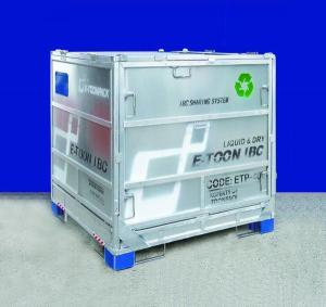 Steel Panel IBC Liquid Storage Tank  Durable 1100 Litre Large Capacity Manufactures