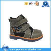 Whosale Winter collection fancy children leather shoes /baby style children winter boot shoes with lace Manufactures