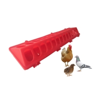 Poultry Farming Equipment 30x10cm Plastic Chicken Feeder Manufactures