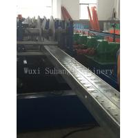 GCr15 Roller Cable Tray Machine 380V 50Hz 3 Phase with Hydraulic Cutting Cr12mov