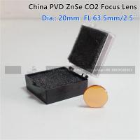 """China ZnSe Focus Lens DIa. 20mm FL 63.5mm 2.5"""" for CO2 Laser Engraving Cutting Machine Manufactures"""