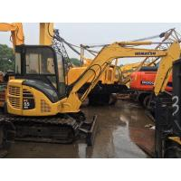 12V Voltage Used Earth Moving Equipment Komatsu PC55MR With Rubber Track Manufactures