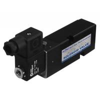 Black Pneumatic Solenoid Valve 24vdc Short Lead Time With Plate Type Manufactures