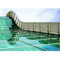 BS / ASTM Approve 12mm Toughened Safety Glass For Subway Station Manufactures