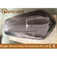 Car Top Carrier Cargo Box Roof hard Shell , 445L side-opening Roof Boxes Manufactures