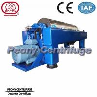 Cheap Large Capacity Decanter Centrifuges Horizontal Continuous Separation Centrifuge for sale
