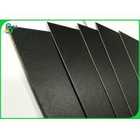 FSC Excellent Stiffness Grey Chipboard 70*100cm 600gsm 800gsm Black Board For Packaging Boxes Manufactures