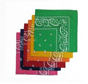 China cute cotton custom design mix color bandana selling to Europe on sale