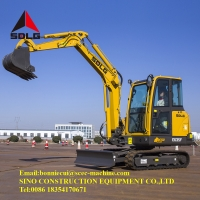 Compact 3.5 Ton Hydraulic Crawler Excavator Farm Machinery Manufactures