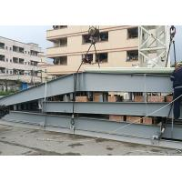 China Light Prefab Steel Structure Hotel Fashionable Easy Assemble Painted Surface on sale