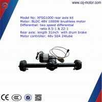 48v 850w e tricycle complete kit e- rickshaw spare parts with 24 tube controller Manufactures