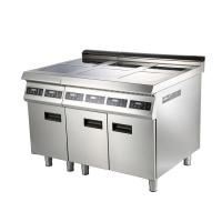 Fast Efficiency Commerical 4 Burner Induction Cooker With Low Noise Manufactures