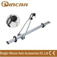 4wd automobile upright Aluminium roof bike carrier for locking up 1 bicycle Manufactures