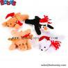 "Buy cheap 6""Xmas Bean Bag Stuffed Animal Toy Children Christimas Gift from wholesalers"