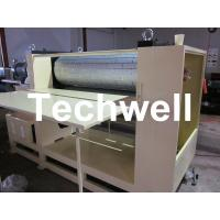 3.8 Ton MDF / Wood Embossing Machine with Up-Down Roll Heating Device Manufactures