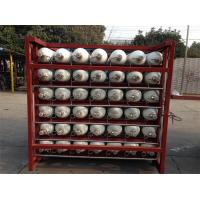 Custom 200 Bar / 250 Bar Ground CNG Storage Tanks / Cascade Tank For Gas Filling Stations Manufactures