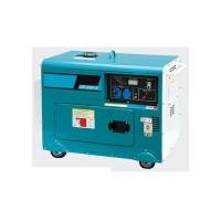 Cheap Single phase electric portable diesel generator set 220v  5kva For Home for sale