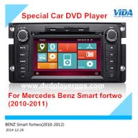 Cheap Car DVD Navigation/Car DVD Auto Vedio Player for Mercedes Benz Smart fortwo (2010-2011) for sale
