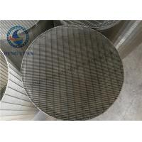 Stainless Steel Johnson Water Filter Screen Pipe Slot Hole Shape Manufactures