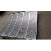 Cheap Standard  8mm pitch stainless steel perforated sheets suppliers with  1219mm width for sale