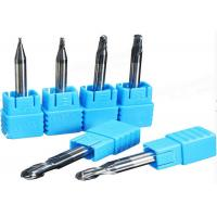HRC55 HRC65 Coated Micro-Diameter Taper 2 Flutes End Mill/Milling Cutter Manufactures