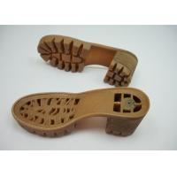 China RJ-178 Plastic Injection TPR Outsole For Sandal / Leather Shoe Making on sale