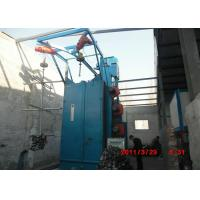 Q37 Hanging Hook Type Shot Blasting Machine , Shot Blast Cleaning Machine Non - Pit Manufactures