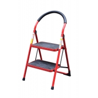 Collapsible 0.89m 2 Step Double Sided A Frame Ladder Manufactures