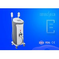 Skin Rejuvenation SHR Hair Removal Machine 0.1ms - 9.9ms Pulse No Down Time Manufactures