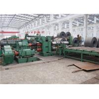 Capacity 450 KW Steel Coil Slitting Line Weight 35 Tons Custom Design Manufactures