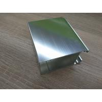 Silver White Polished Aluminium Profile Door And Window Accessories Manufactures