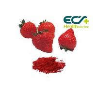 Nutritional Organic Superfood Powder , Micronized Freeze Dried Strawberry Powder Manufactures