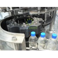 3-in-1 Monoblock Water Filling Machines XGFD 14-12-5 With Rinsing Filling Capping Manufactures