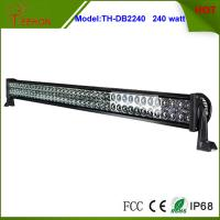 Cheap 42 inch 240w Double Row Auto LED Light Bar for Truck, Ford, Train, Boat and trailer for sale