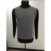 China Cable Knit Mens Turtleneck Sweater , Merino Wool Nice Sweaters For Guys on sale