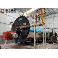 4 Ton Light Oil Fired High Efficiency Steam Heaters Industrial For Food Processing Manufactures