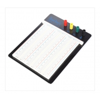 Solder 4 Binding Posts Round Hole Breadboard Aluminum Backing Manufactures