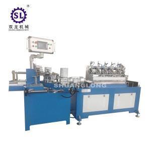 Safty Multi Cutters Drinking Paper Straw Making Machine Per Minute 200 Pcs Manufactures