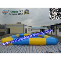 Square Inflatable Water Pool / Strong PVC Tarpaulin Inflatable Pool For Kids Manufactures